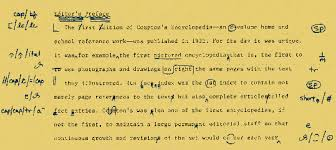 Proofreading symbols